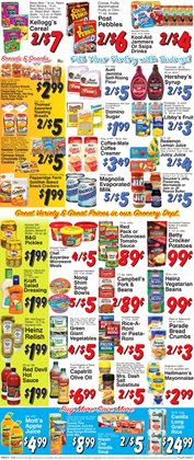 Table deals in the Trade Fair Supermarket weekly ad in New York