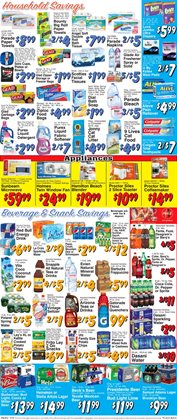 Clorox deals in the Trade Fair Supermarket weekly ad in New York