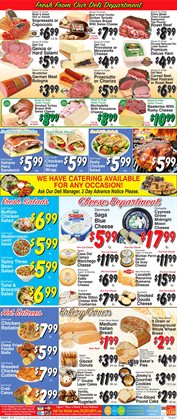 Donuts deals in the Trade Fair Supermarket weekly ad in New York