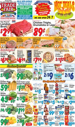 Pillsbury deals in the Trade Fair Supermarket weekly ad in New York