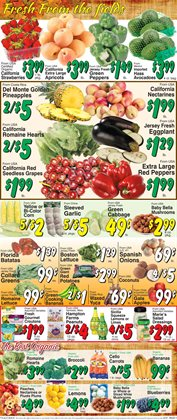 Bella deals in the Trade Fair Supermarket weekly ad in New York