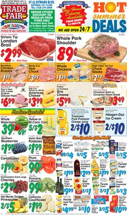 Footwear deals in the Trade Fair Supermarket weekly ad in New York