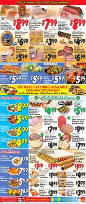 Matches deals in the Trade Fair Supermarket weekly ad in New York