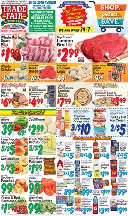 Cereals deals in the Trade Fair Supermarket weekly ad in New York