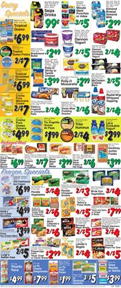 Onion rings deals in the Trade Fair Supermarket weekly ad in New York