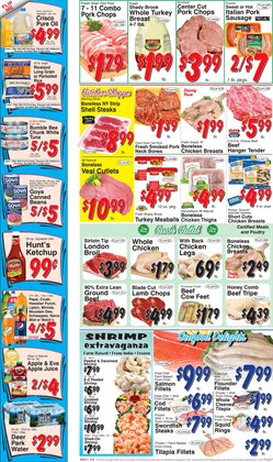 Bumble Bee deals in the Trade Fair Supermarket weekly ad in New York