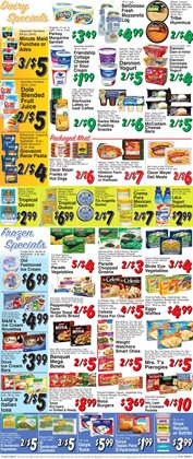 Sandwiches deals in the Trade Fair Supermarket weekly ad in New York