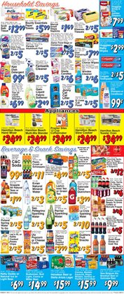 Cleaners deals in the Trade Fair Supermarket weekly ad in New York