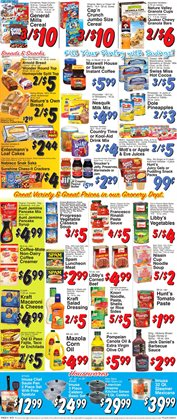 Dinosaurs deals in the Trade Fair Supermarket weekly ad in New York