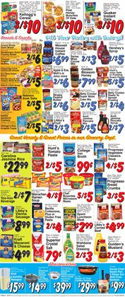 Barilla deals in the Trade Fair Supermarket weekly ad in Flushing NY