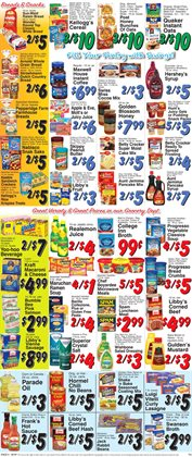 Nabisco deals in the Trade Fair Supermarket weekly ad in New York