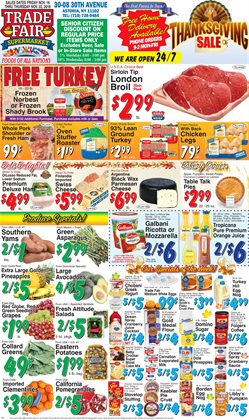 Coffee deals in the Trade Fair Supermarket weekly ad in New York