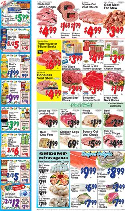 Chicken thighs deals in the Trade Fair Supermarket weekly ad in New York