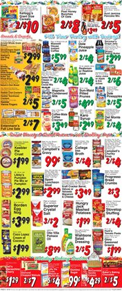 Chorizo deals in the Trade Fair Supermarket weekly ad in New York