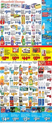 Huggies deals in the Trade Fair Supermarket weekly ad in New York