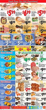 Christmas deals in the Trade Fair Supermarket weekly ad in New York