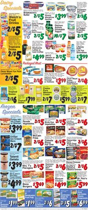 Watermelon deals in the Trade Fair Supermarket weekly ad in New York