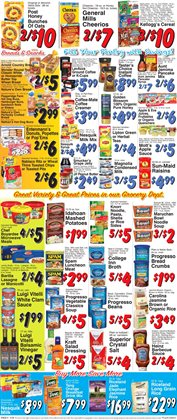 Cheerios deals in the Trade Fair Supermarket weekly ad in New York