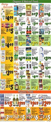 Wine deals in the Trade Fair Supermarket weekly ad in Forest Hills NY