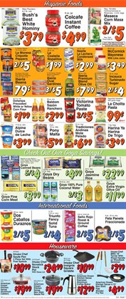 Coffee maker deals in the Trade Fair Supermarket weekly ad in New York