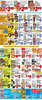 Crackers deals in the Trade Fair Supermarket weekly ad in New York