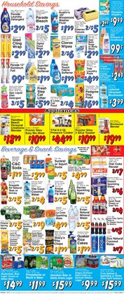 Pampers deals in the Trade Fair Supermarket weekly ad in New York