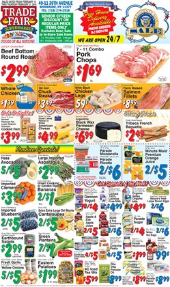 Men's jacket deals in the Trade Fair Supermarket weekly ad in New York