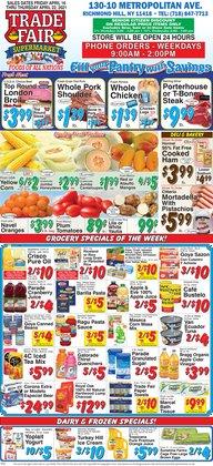 Trade Fair Supermarket catalog ( Expires today)