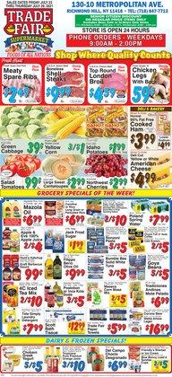 Trade Fair Supermarket deals in the Trade Fair Supermarket catalog ( 3 days left)