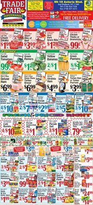 Barbecue deals in the Trade Fair Supermarket weekly ad in New York