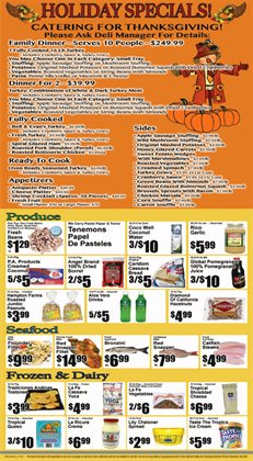 Tray deals in the Key Food weekly ad in New York