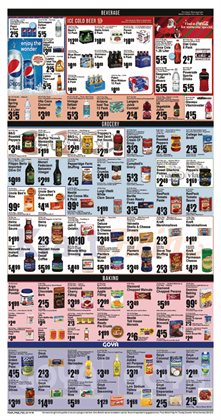 Cruises deals in the Key Food weekly ad in New York