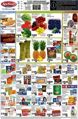 Key Food catalogue in New York ( 2 days left )