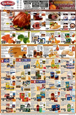 Sales deals in Key Food
