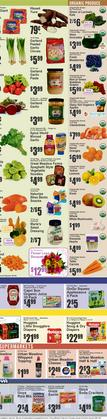 Table deals in Key Food