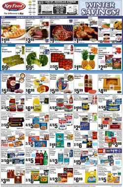 Grocery & Drug offers in the Key Food catalogue ( Expires tomorrow )