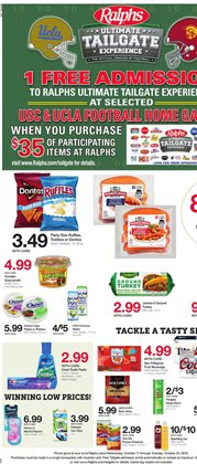 Games deals in the Ralphs weekly ad in Fullerton CA