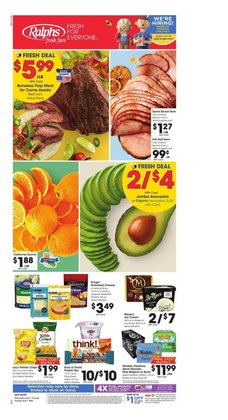 Grocery & Drug offers in the Ralphs catalogue in Temecula CA ( 2 days left )