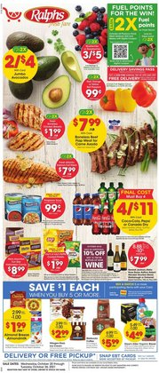 Ralphs deals in the Ralphs catalog ( 1 day ago)