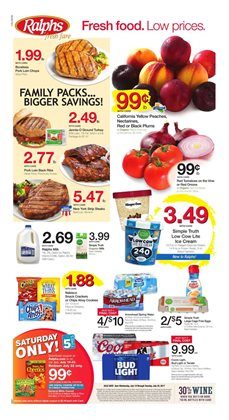 Ralphs deals in the Los Angeles CA weekly ad
