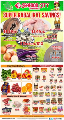 Seafood City deals in the San Diego CA weekly ad