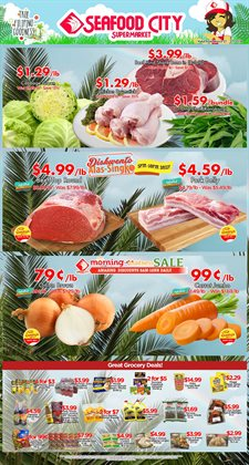 Seafood City deals in the Seattle WA weekly ad