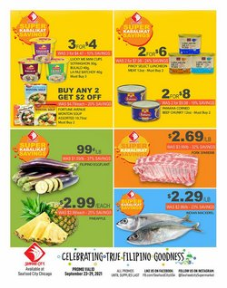 Grocery & Drug deals in the Seafood City catalog ( Expires tomorrow)