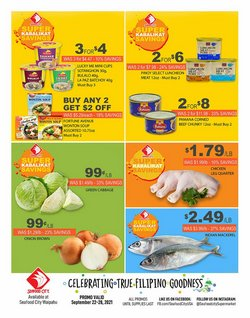 Grocery & Drug deals in the Seafood City catalog ( Expires today)