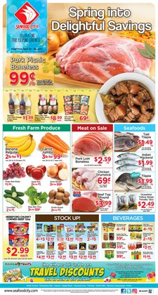 Fruit deals in the Seafood City weekly ad in Los Angeles CA