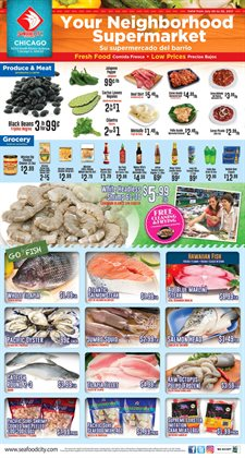 Seafood City deals in the Highland Park IL weekly ad