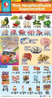 Seafood City deals in the Chicago IL weekly ad