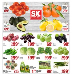 Grocery & Drug offers in the Super King Markets catalogue in Ontario CA ( 1 day ago )