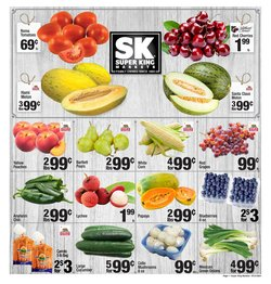 Grocery & Drug deals in the Super King Markets catalog ( Expires today)