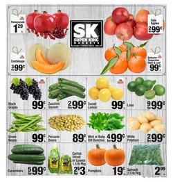 Super King Markets catalog ( Expires tomorrow)